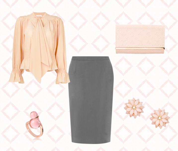 6 способов носить серую юбку с шиком