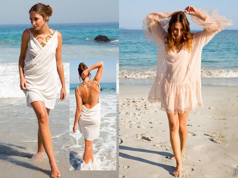 Как сделать платье на море