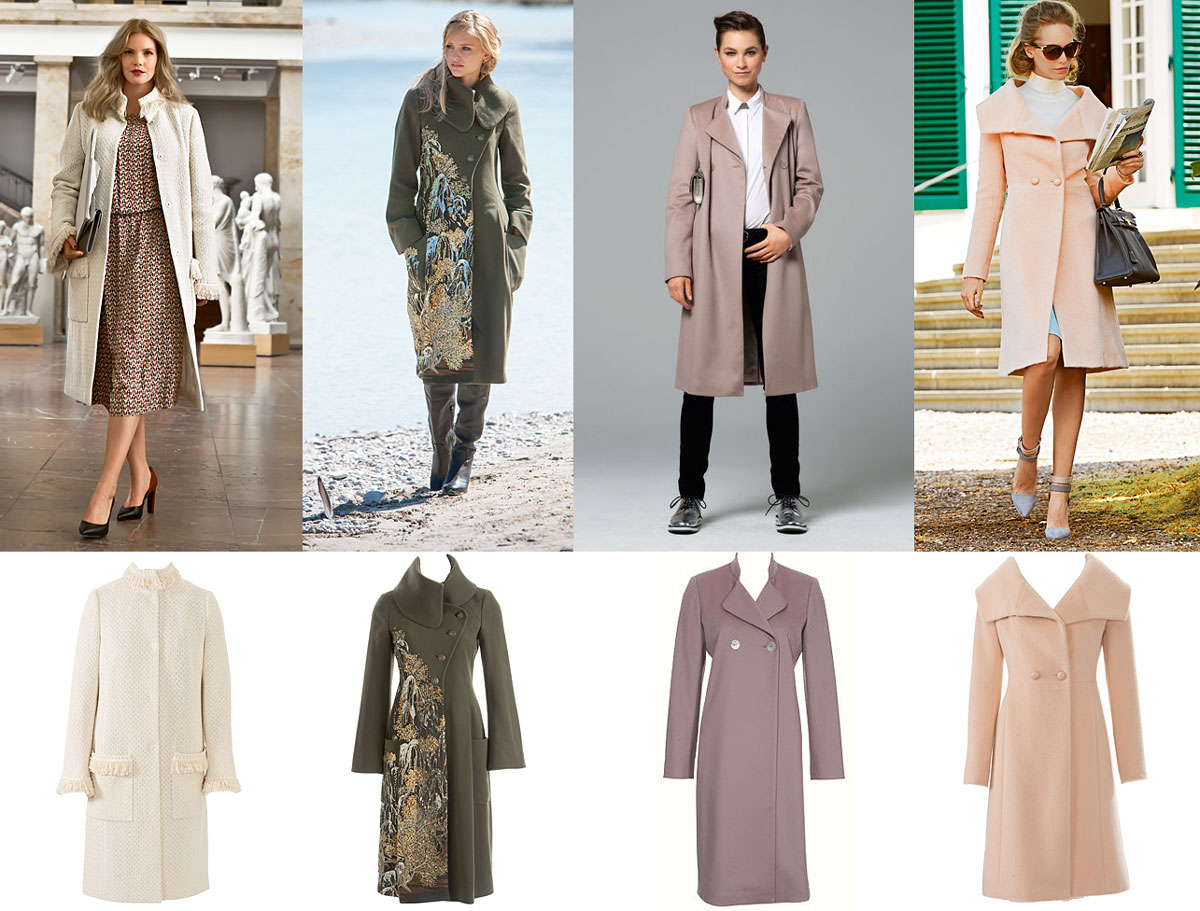 Типы фигуры и модели пальто