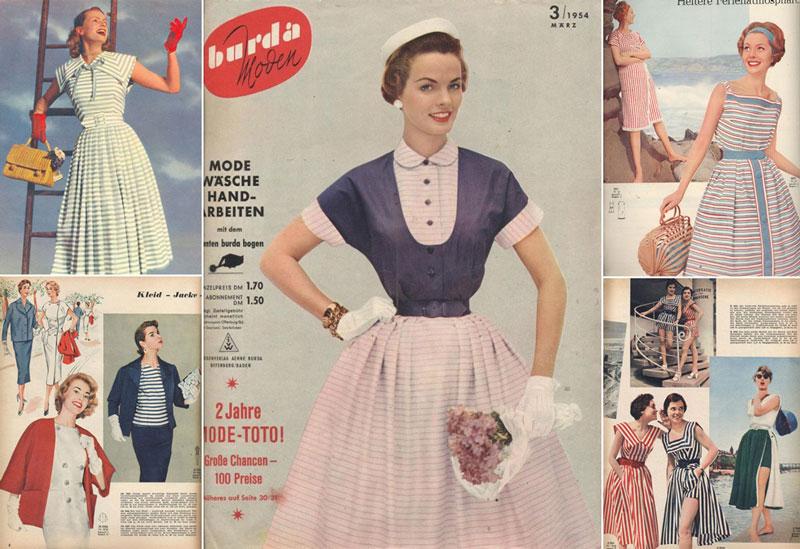 Мода на прически 1950 года
