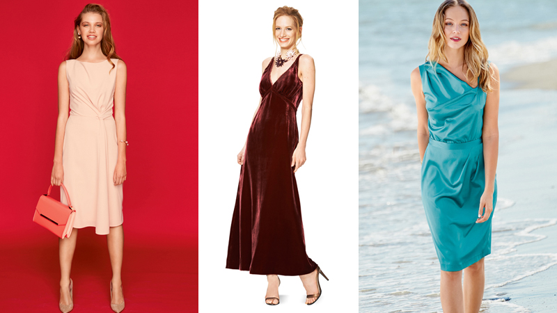 Праздничные платья женщин для торжественных случаев