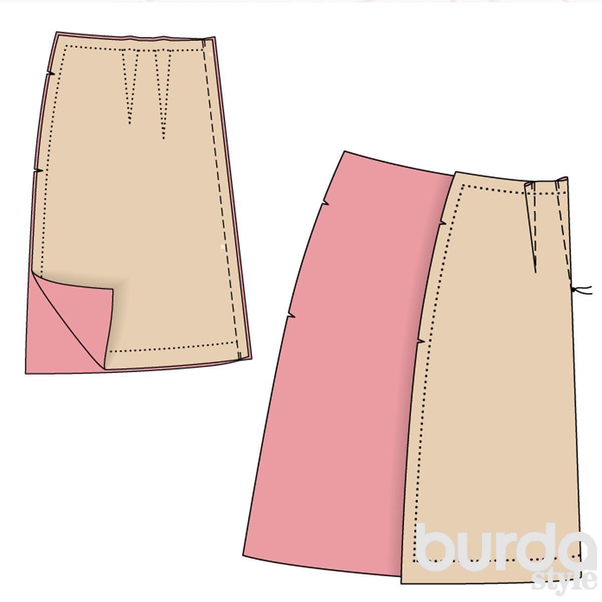 Как сшить юбку фото пошагово