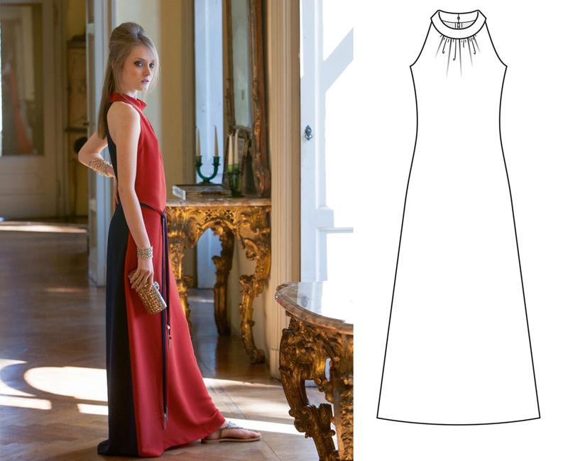 Как сшить себе красивое платье если ты полный