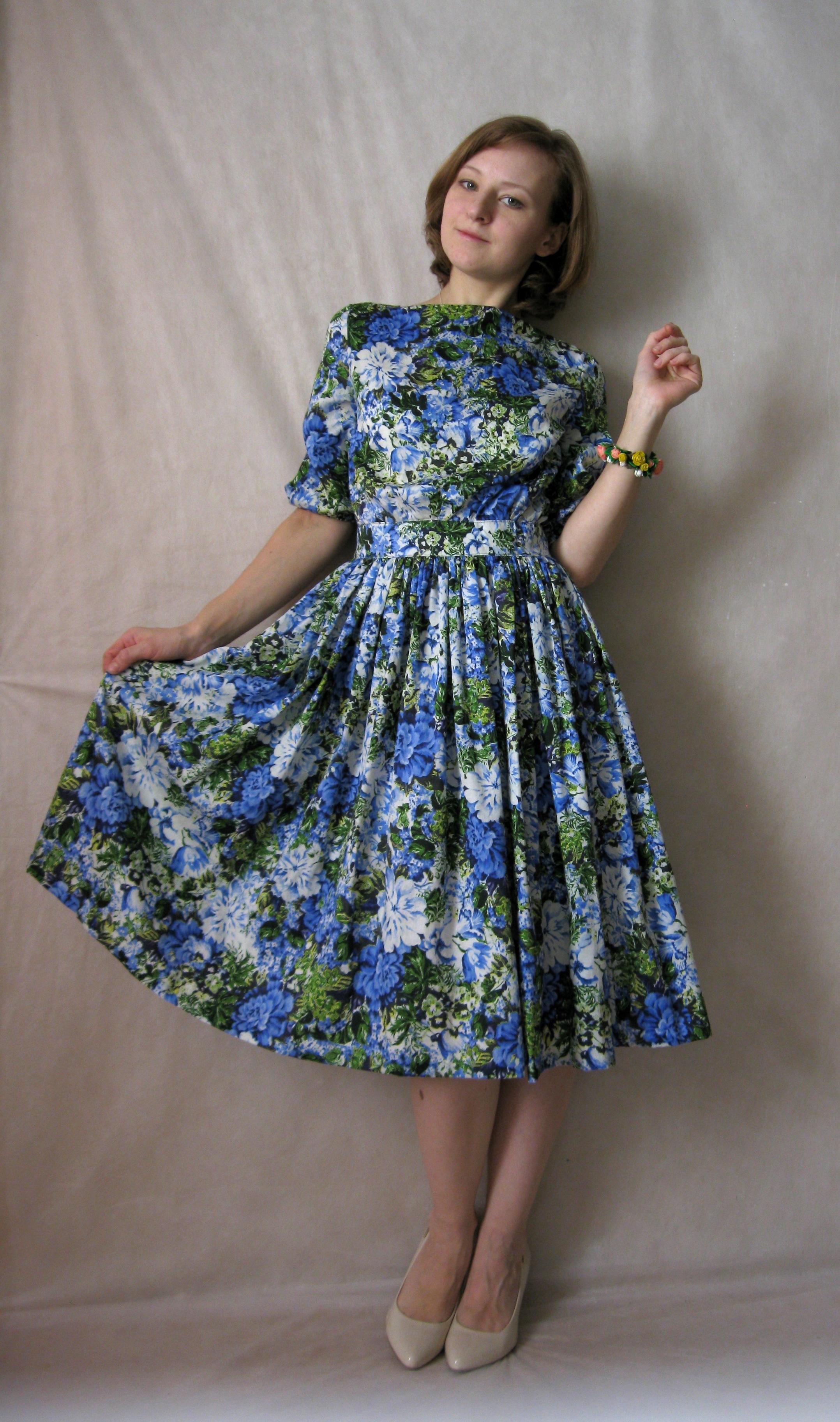Весенние платья для конкурса