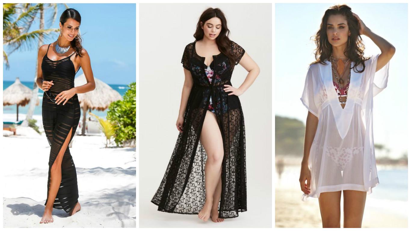 Выкройка пляжного платья длинные