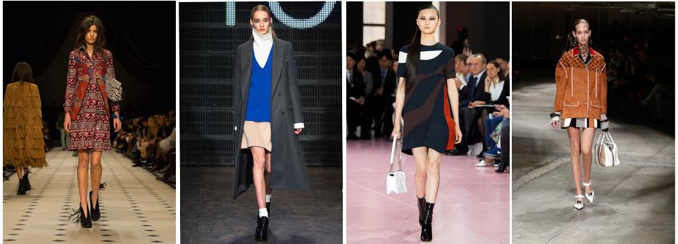 eb32273c0a4 Cочетать несочетаемое  какую обувь носить с юбками разной длины ...