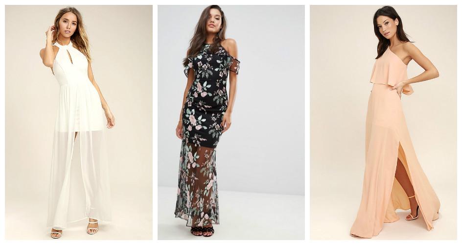 Модели платья 2017