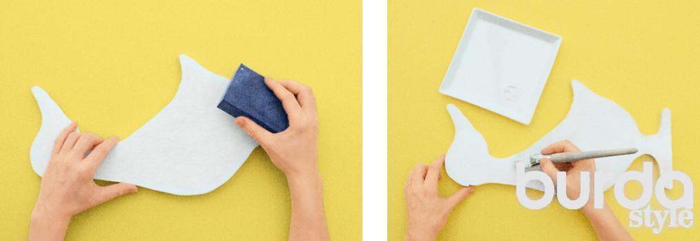 Гуси: декор для дачи своими руками