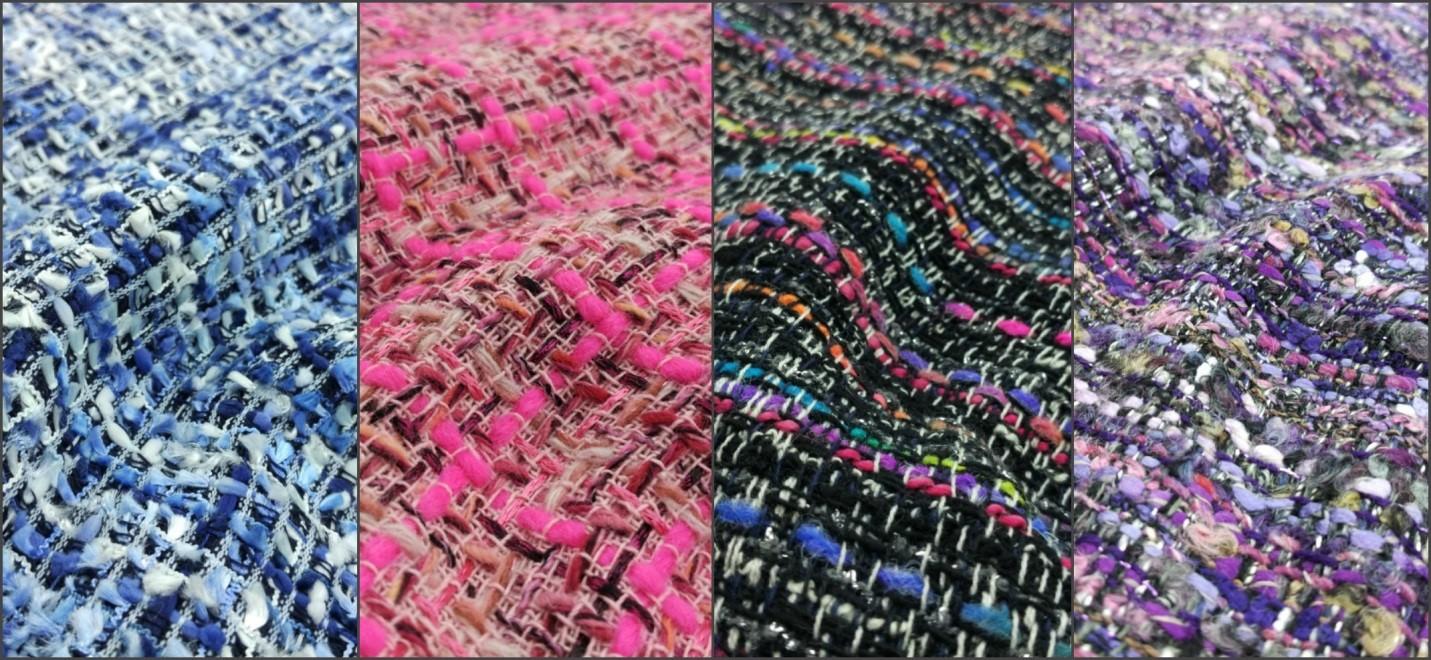 Весенние ткани для