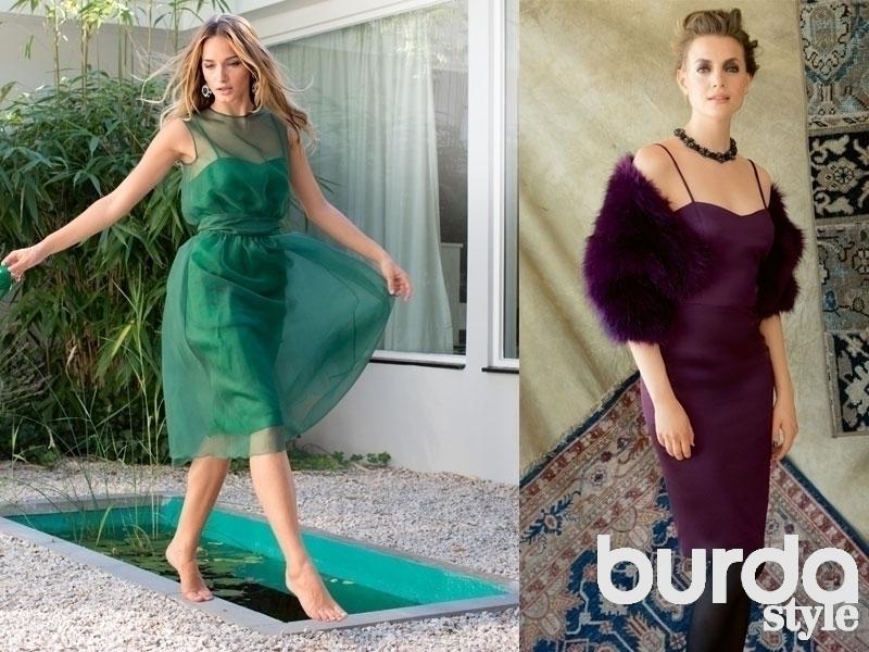 Как сшить платье из органзы