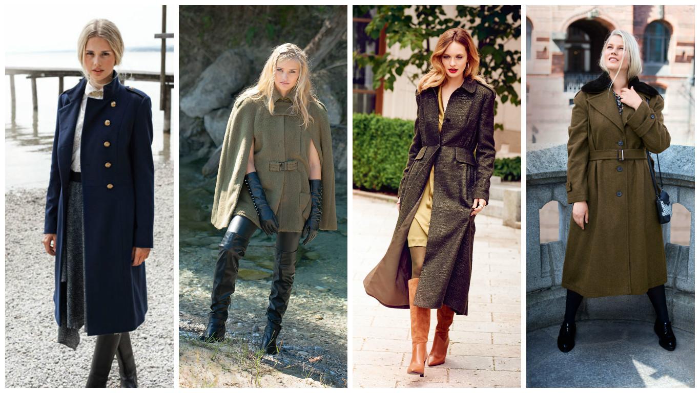 Пальто в стиле милитари сшить