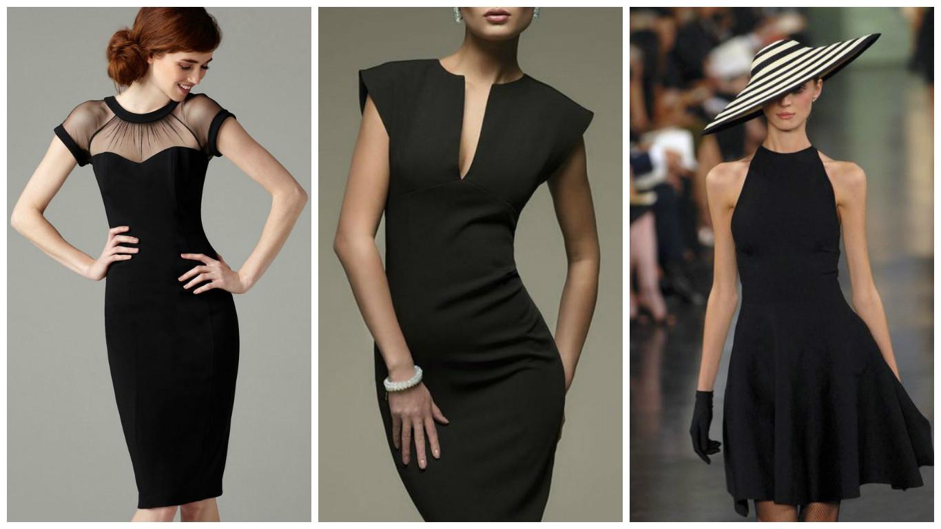 23e1ee8f4c0 Маленькое черное платье