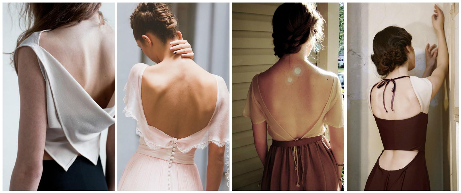 Как самой сшить платье с открытой спиной