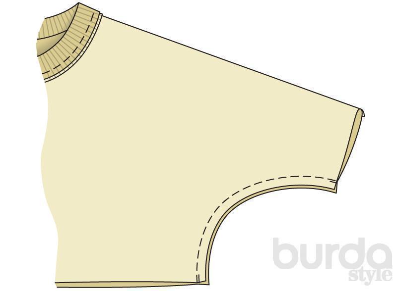 Бесплатная выкройка BURDA