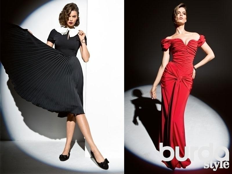 78d33a55877 Платье на выпускной  подборка лучших выкроек — BurdaStyle.ru