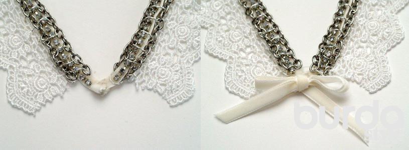 Своими руками ожерелье на цепочке