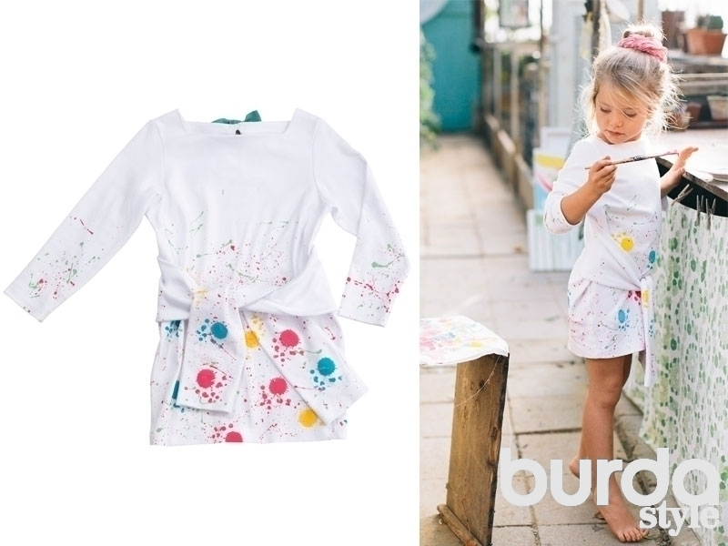 Бурда моден платья детские