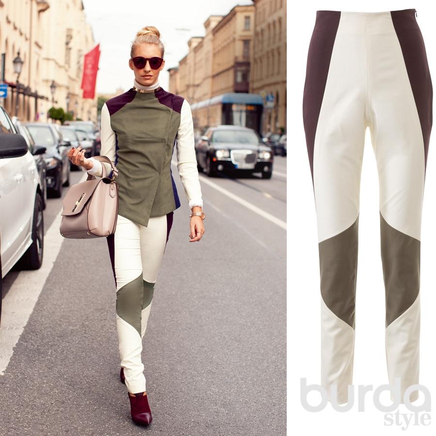 5342f7835a7c691 Выкройки брюк для разных типов фигуры — BurdaStyle.ru