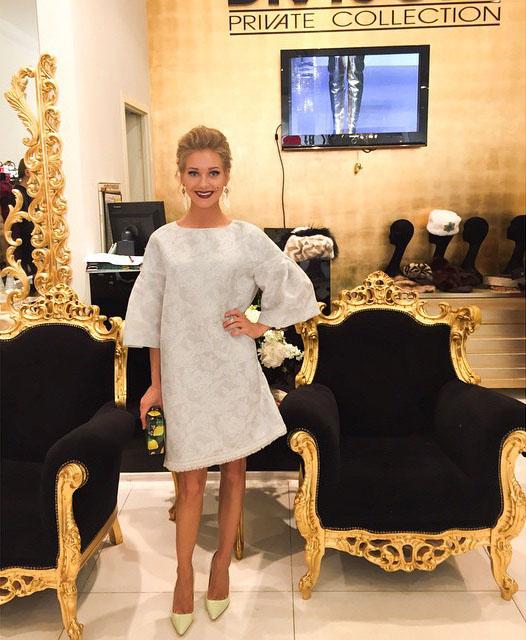 Кристина асмус фото в платье