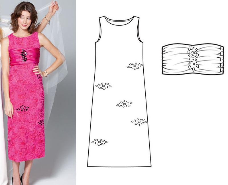 платье простого кроя своими руками