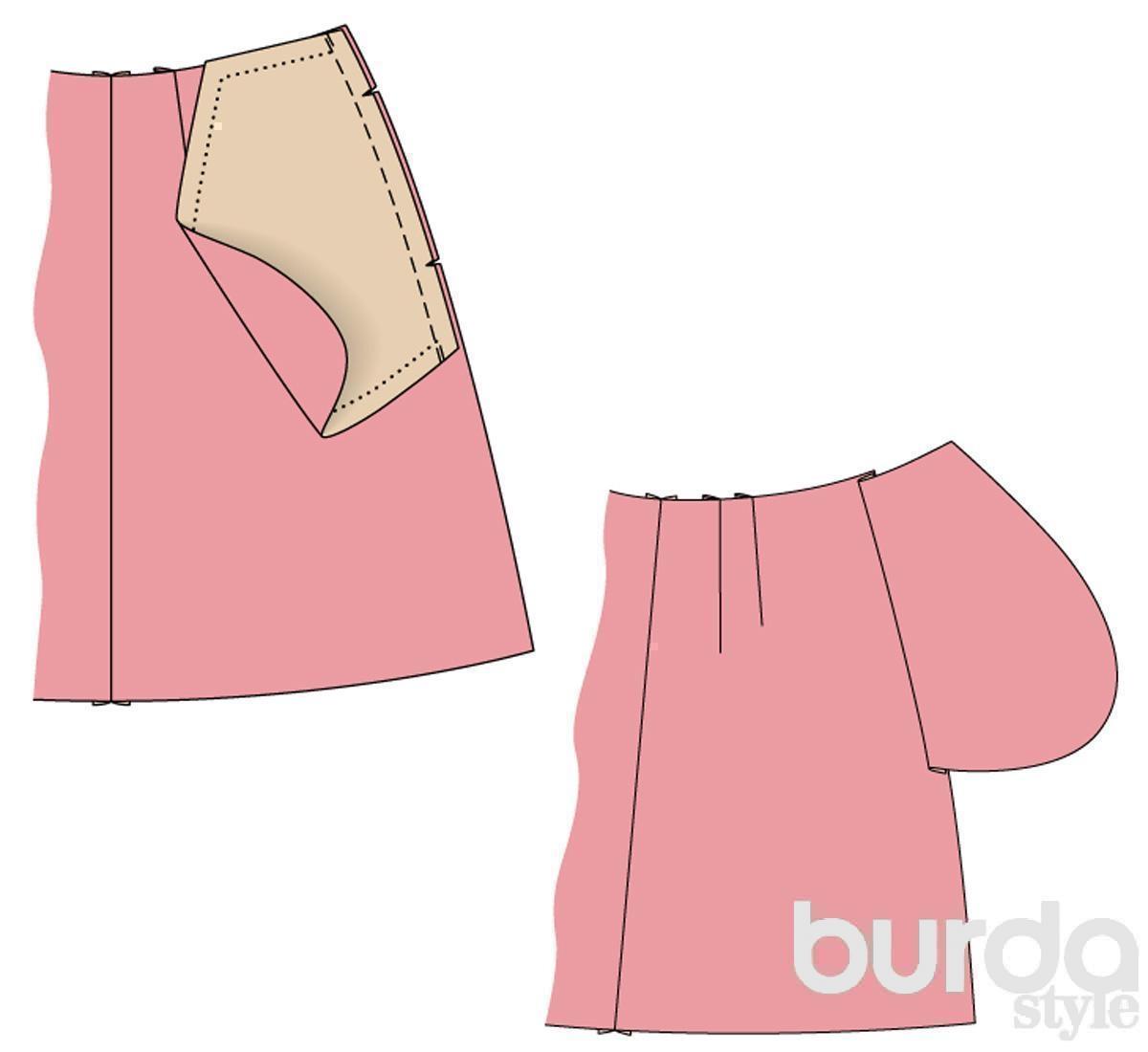 Как сшить юбку пошаговая инструкция фото