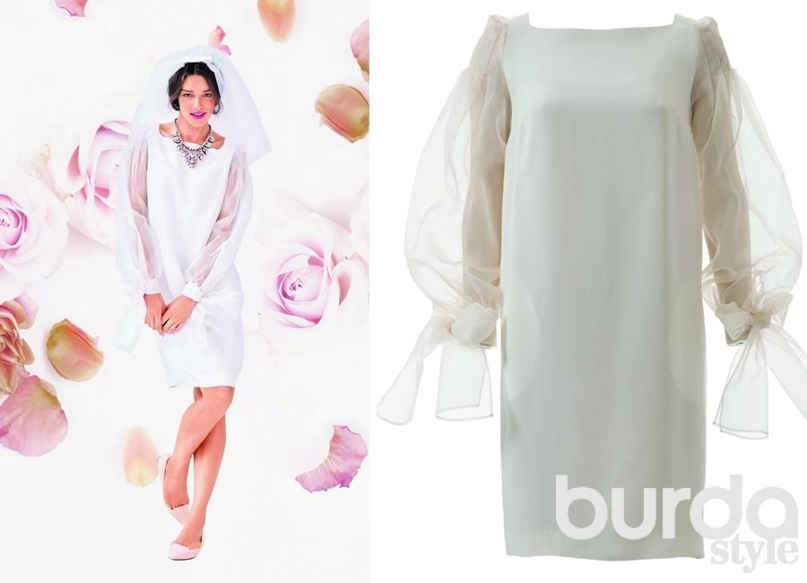 1dc6f88b6b9 10 выкроек свадебных платьев от Burda — BurdaStyle.ru