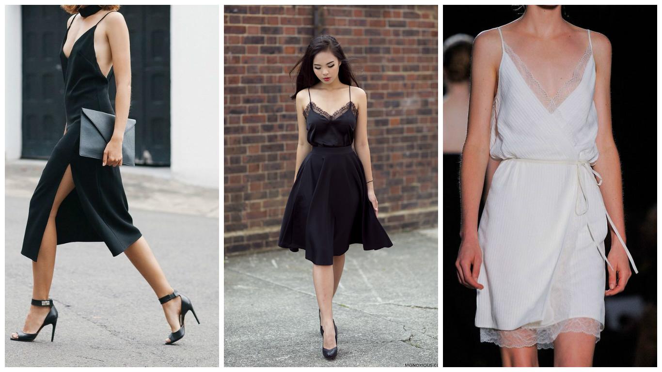 Как носить одежду в бельевом стиле