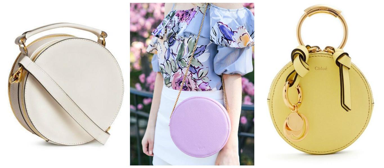 Тренд сезона: круглые сумки