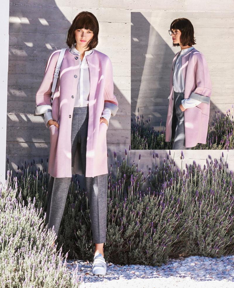 Женское пальто фото с выкройками