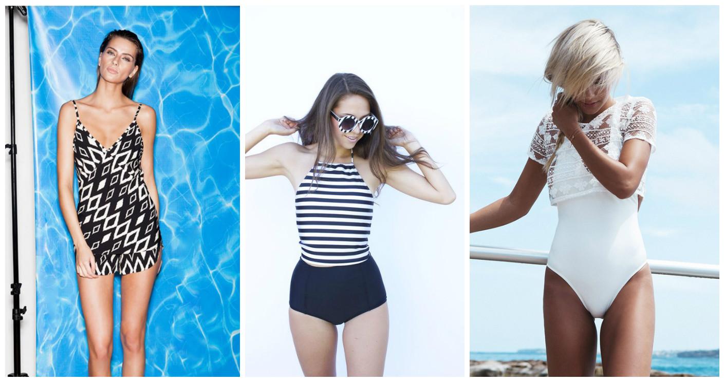Как сшить свой купальник на пляже 254