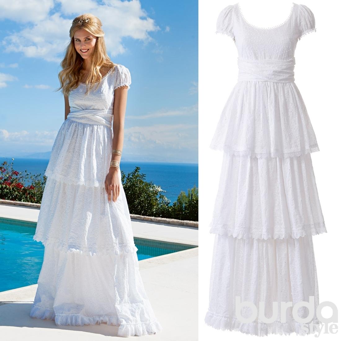 Выкройка свадебной юбки платья