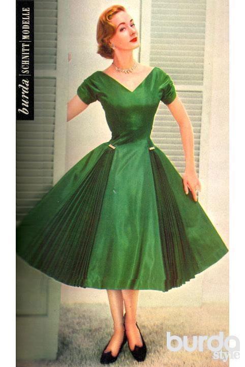 Можно сшить платье из тафты
