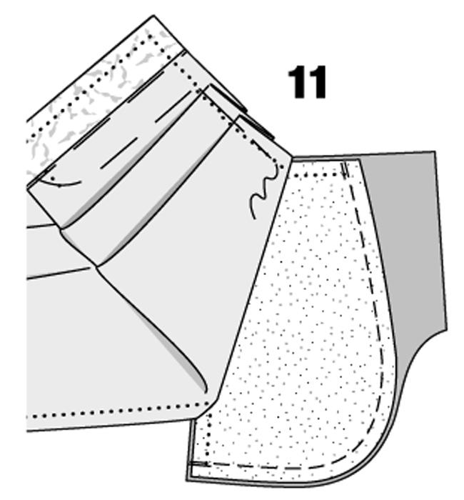 Сшить брюки по боковому шву