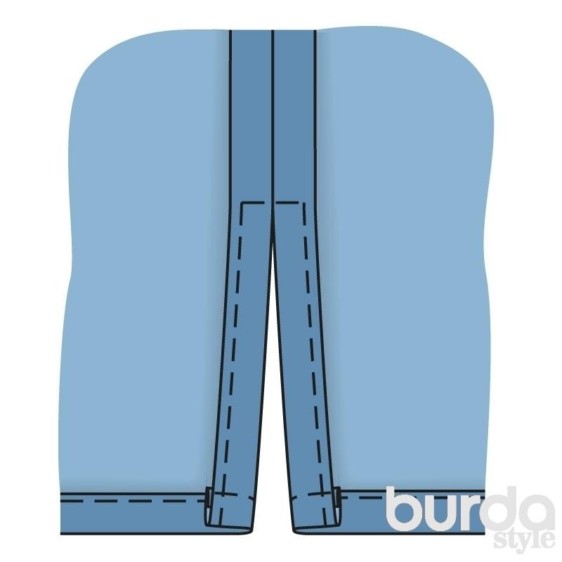 Шитье брюки мастер класс инструкция #5
