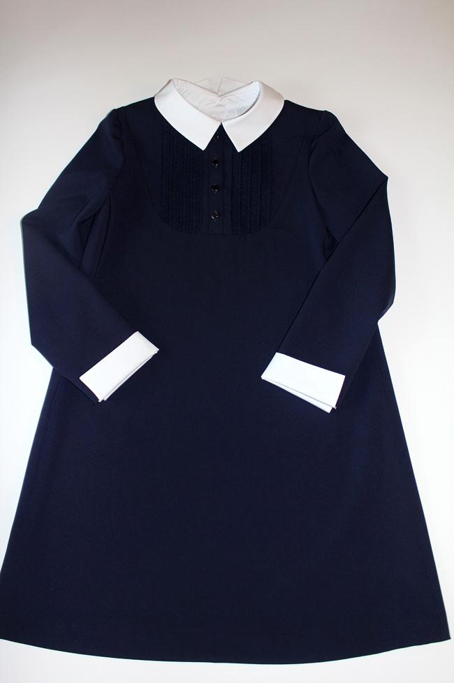 Платье для школьной формы сшить