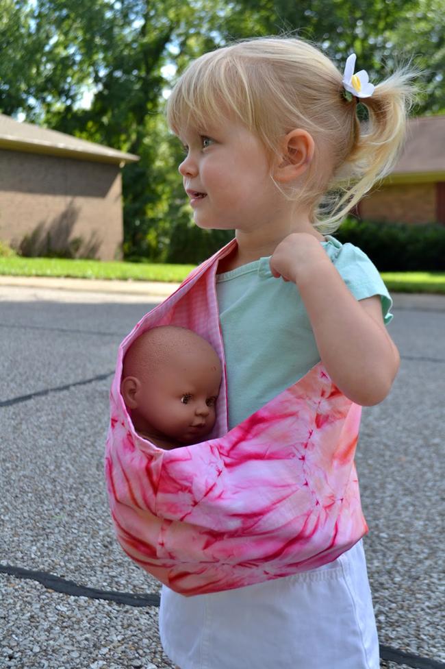 手工布艺制作教程:解放双手的婴儿吊带 - maomao - 我随心动