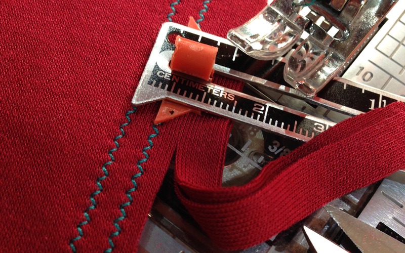 Каким швом шить трикотаж на швейной машинке