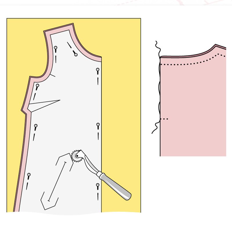 Шьем платье А-силуэта
