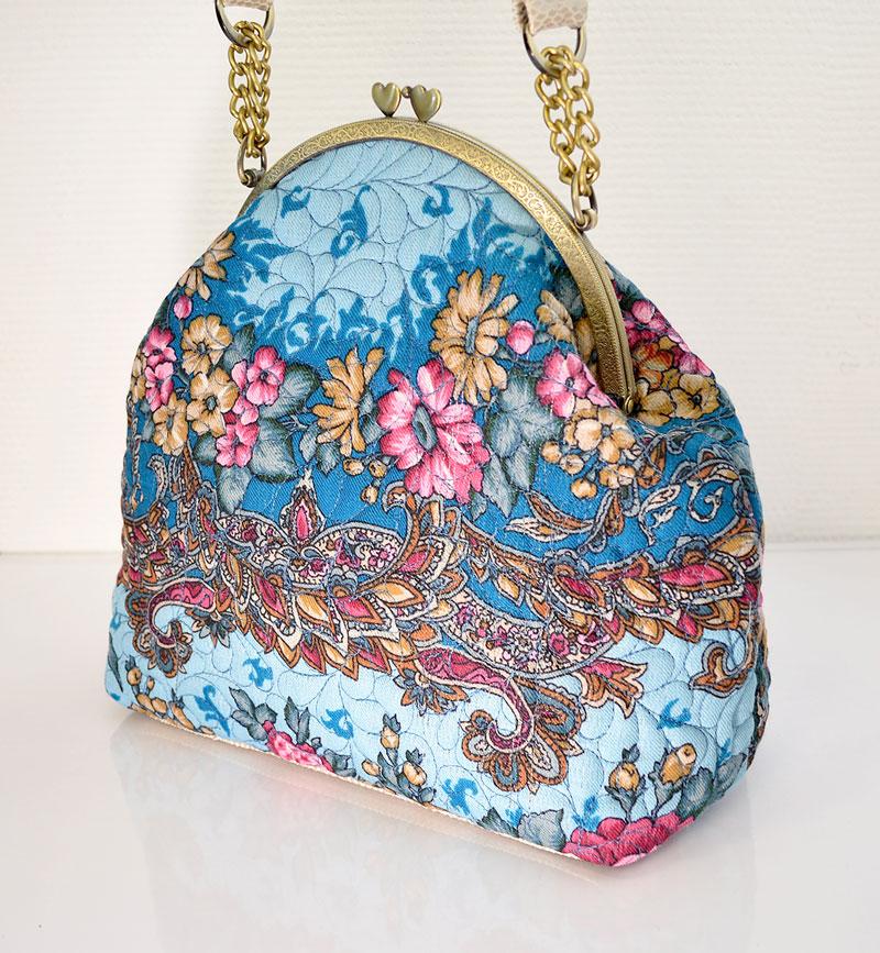 Шьем сумку в русском стиле