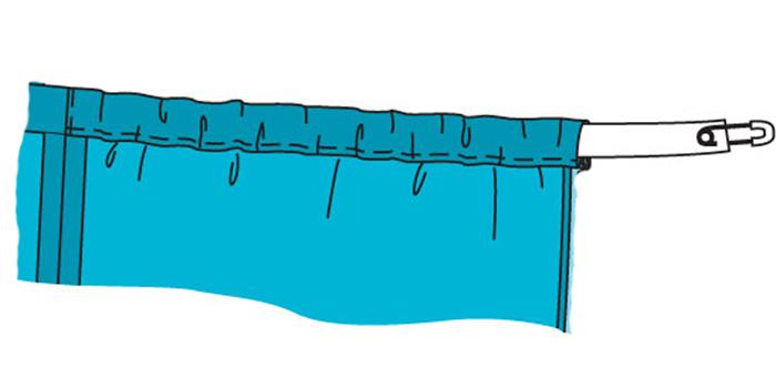 Ткань для юбки на резинке