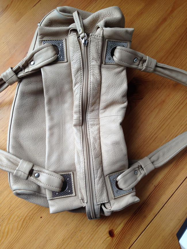 Ремонт ткани на сумке своими руками у молнии