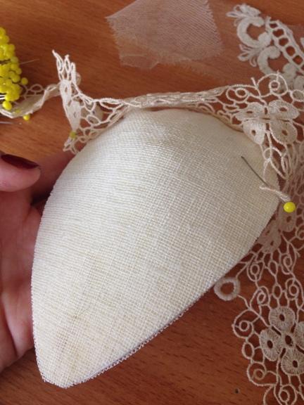 Как сделать вуалетку своими руками мастер класс