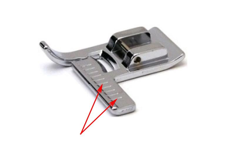 Приспособления для шитья на машинке
