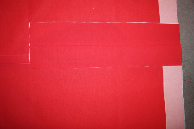 Как обработать шлицу подкладкой в верхних изделиях