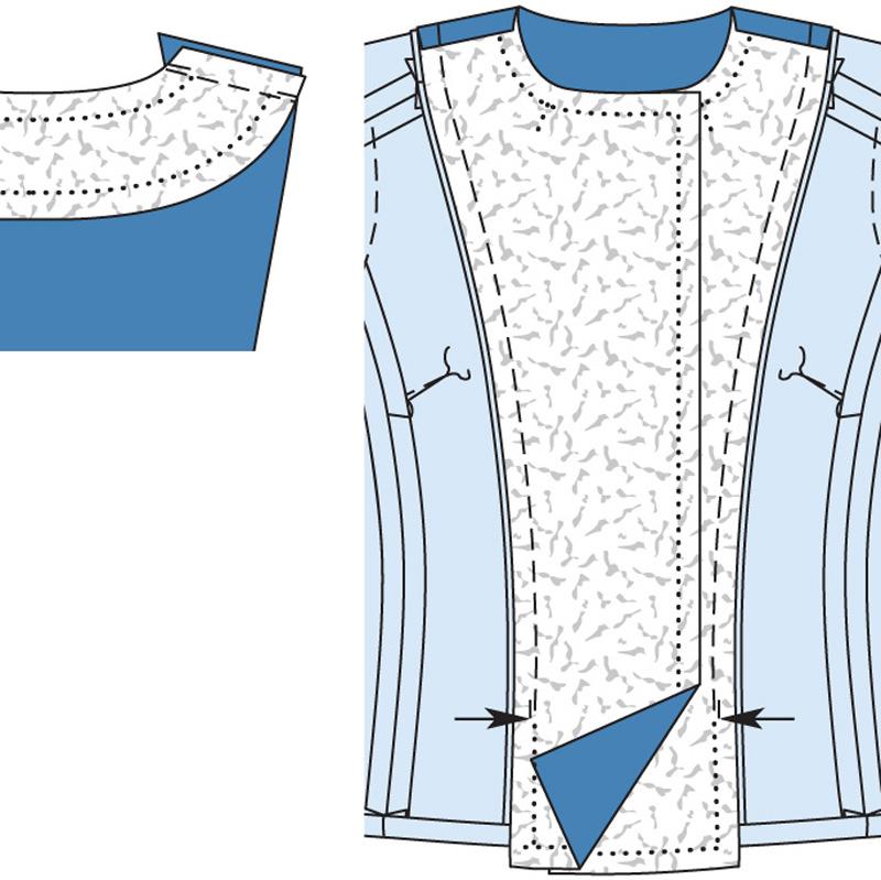 Выкройка пиджак женский двубортный пиджак