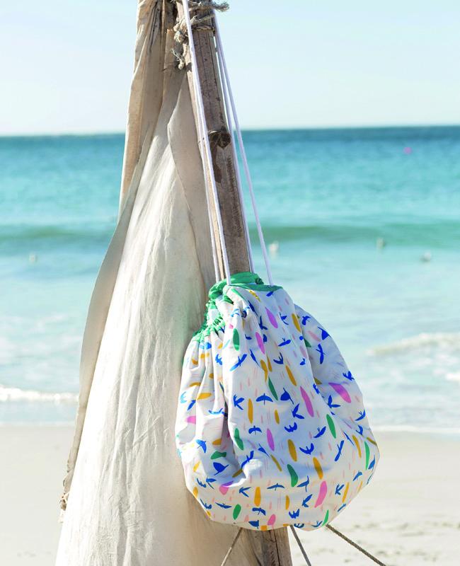 Пляжный коврик своими руками выкройки