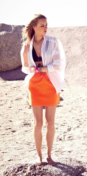 Как сшить юбку нарезинке своими руками