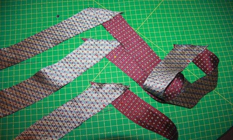 Что можно сделать из старых галстуков