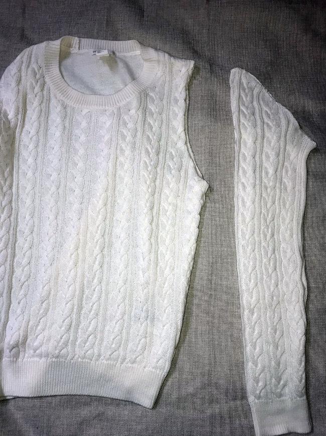 Как сделать блузку-пуловер с трикотажными рукавами