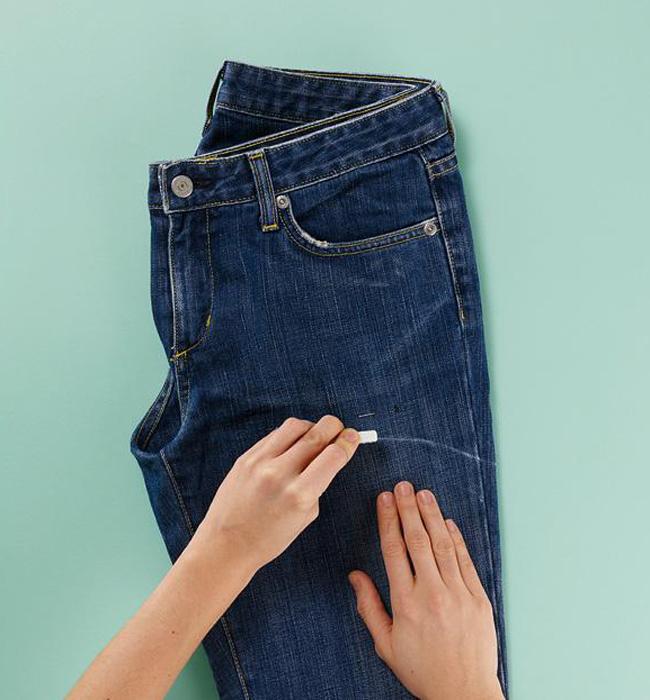 Как обновить старые джинсы своими руками с фото пошаговое